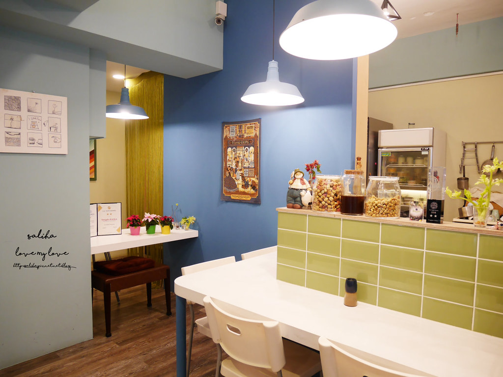 台北天母私廚房Snuggles Kitchen好吃素食蔬食餐廳推薦鄉村風 (4)