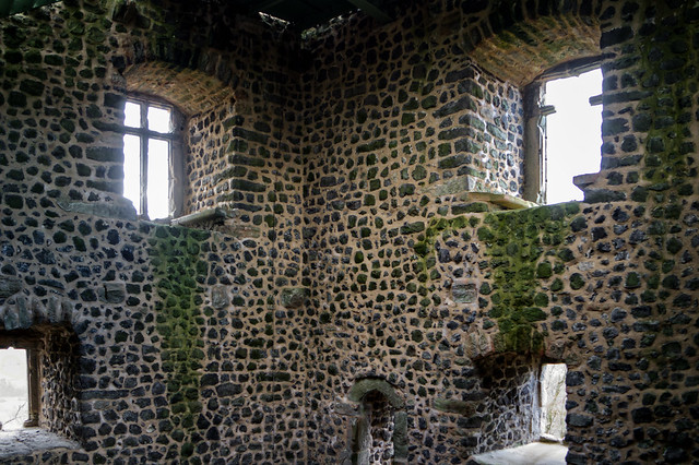 In the castle interior (HWW)