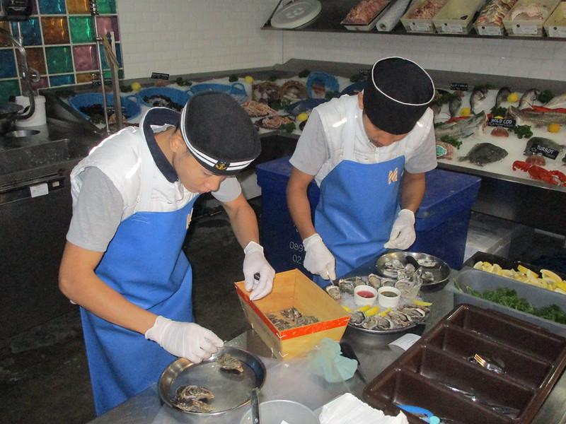 Fabulous fresh seafood Bangkok