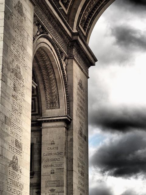 Paris - Arc de Triomphe - Details -