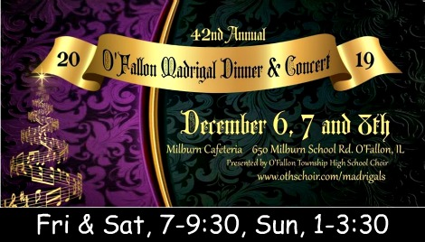 O'Fallon Madrigal Dinner & Concert 2019
