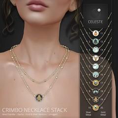 Celeste - Crimbo Necklace Stack - Gacha