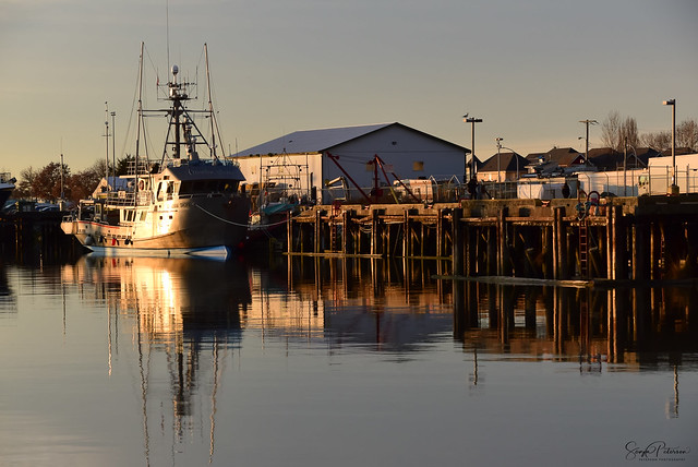 Steveston Fishing Village Harbour