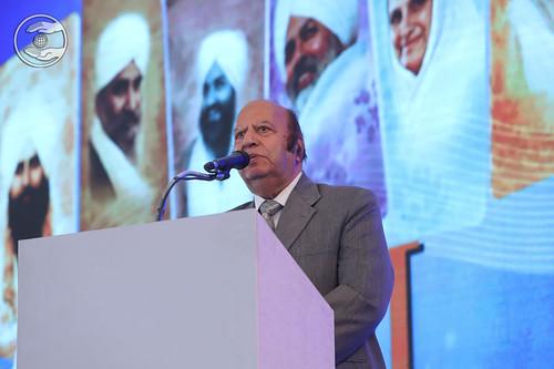 Prof. Raj Sethi Ji presented speech, Amritsar PB