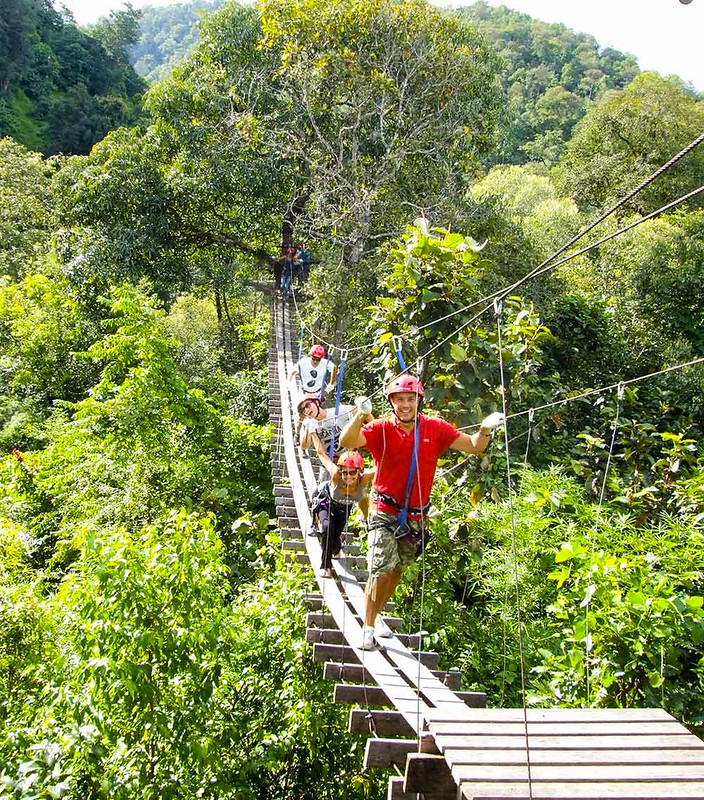 Zipline Chiangmai (Thailand) – Brochures, Tour Info, Price & Travellers Reviews