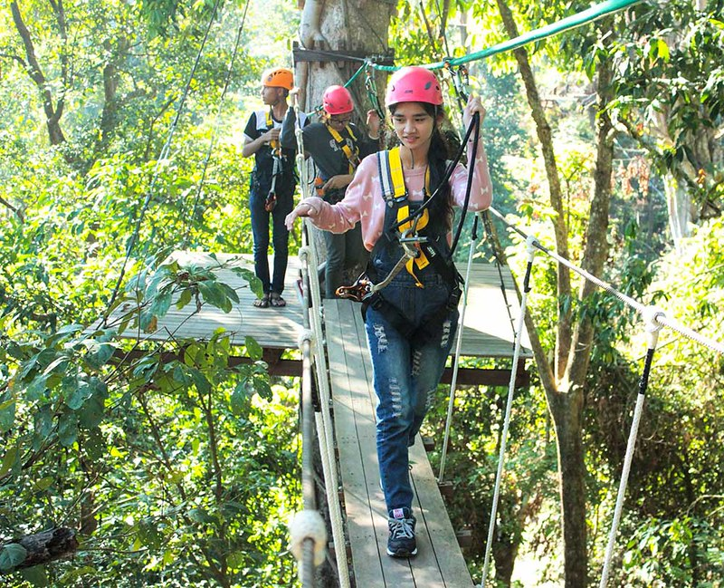 Monjam Zipline Adventure (Chiang Mai, Thailand) – Brochures, Info, Price & Travellers Reviews