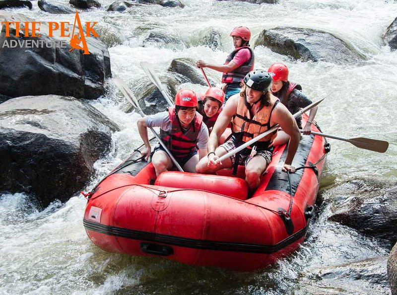 The Peak Adventure – White Water Rafting (Chiang Mai, Thailand) – Brochures & Travellers Reviews