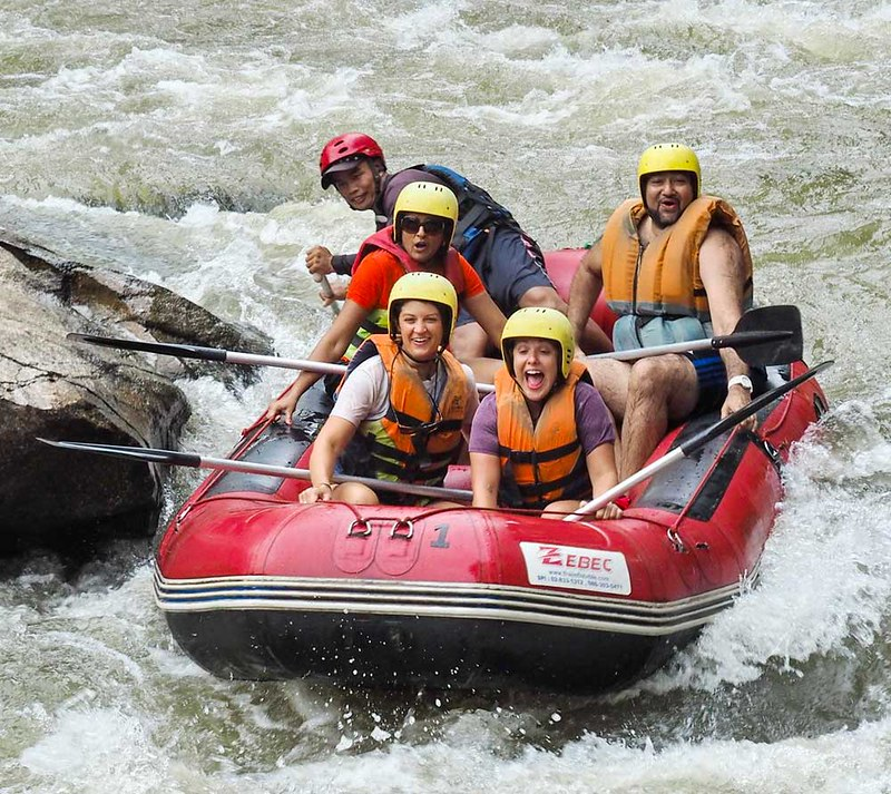 Chiang Mai Adventure White Water Rafting (Thailand) – Brochures & Travellers Reviews