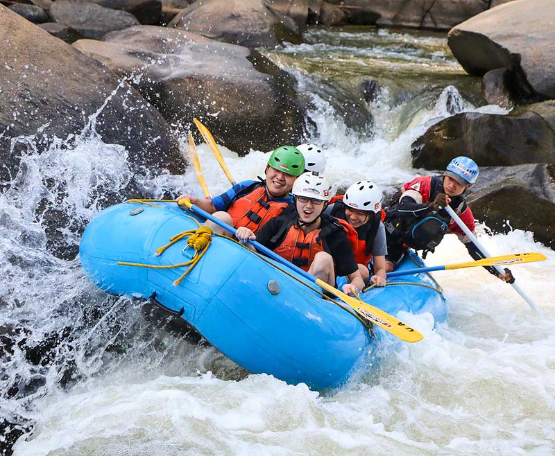8 Adventures Whitewater Rafting (Chiang Mai, Thailand) – Brochures & Travellers Reviews