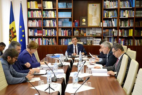 04.12.2019 Şedinţa Comisiei economie, buget finanțe