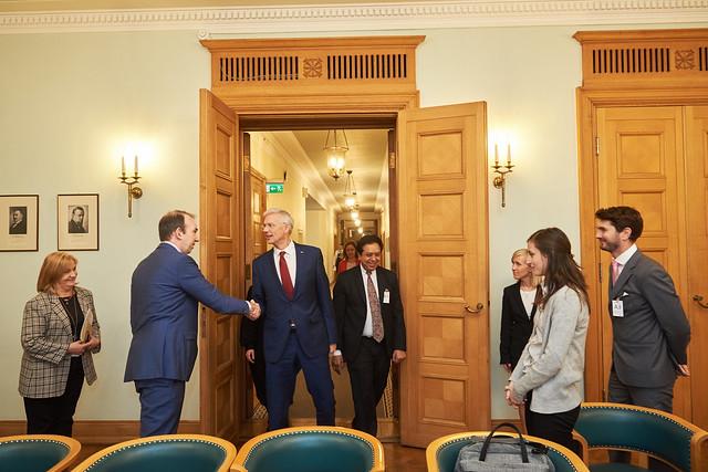 04.12.2019. Ministru prezidents Krišjānis Kariņš tiekas ar Atvērtās pārvaldības partnerības pārstāvjiem