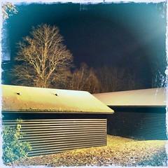 Huts at night 337/365 (5/1798)