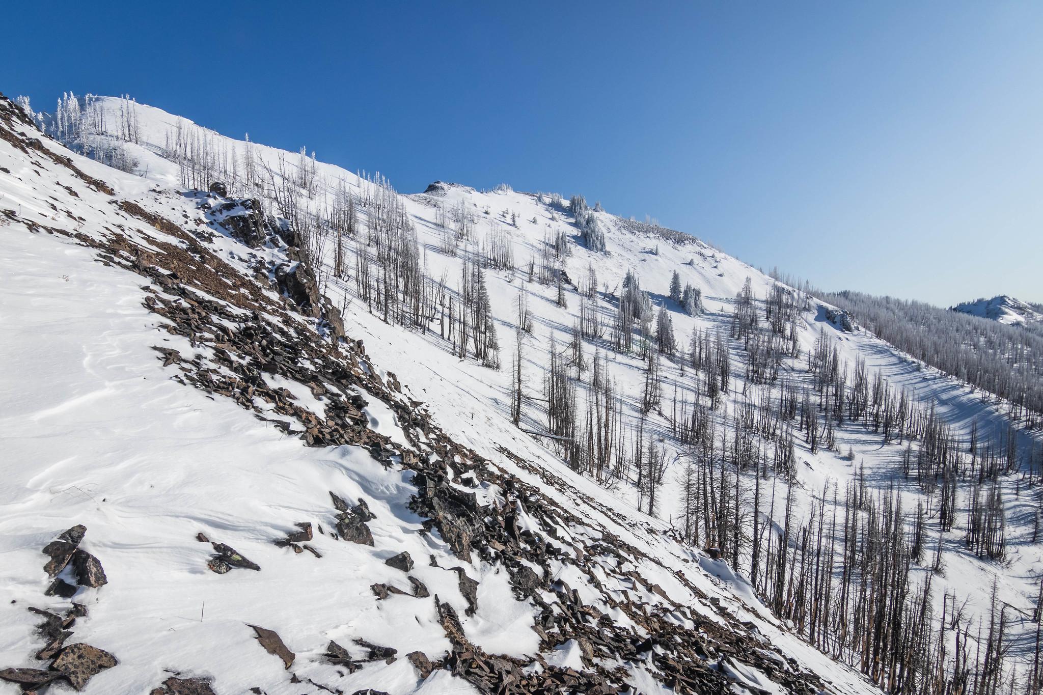 Norse Peak morthwest ridgeline
