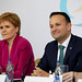 15 November 2019 - 15/11/2019 NO REPRO FEE, MAXWELLS DUBLIN Ireland hosts 33rd meeting of the British-Irish Council Summit. Pic shows Nicola Sturgeon MSP and An Taoiseach, Leo Varadkar TD at the press conference at the  British-Irish Council Summit at Farmleigh. PIC: NO FEE, MAXWELLPHOTOGRAPHY.IE