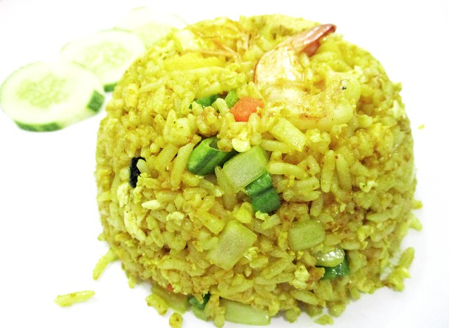 Nok An Net pineapple fried rice
