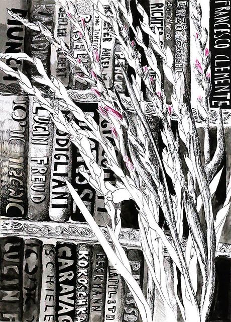 רישום עכשווי מודרני ישראלי דיו על נייר רפידוגרף רישומים בקו רישומי קווים רפי פרץ  raphael perez ניירות