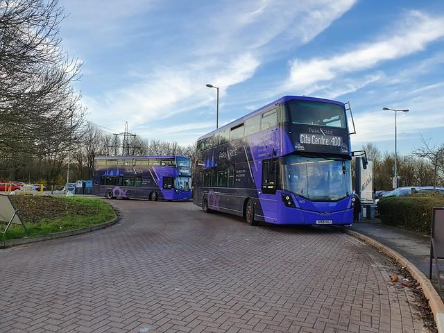 Double Purple Park & Ride