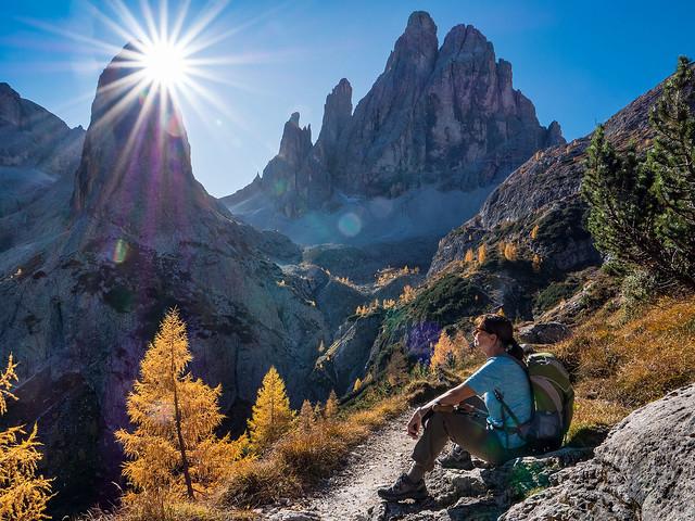 Enjoy the Alpine Sun