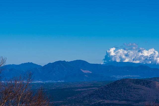 今倉山・杓子山・御正体山・蛭ヶ岳・石割山@雨ヶ岳