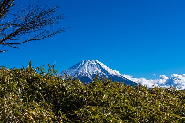 富士山@雨ヶ岳直下