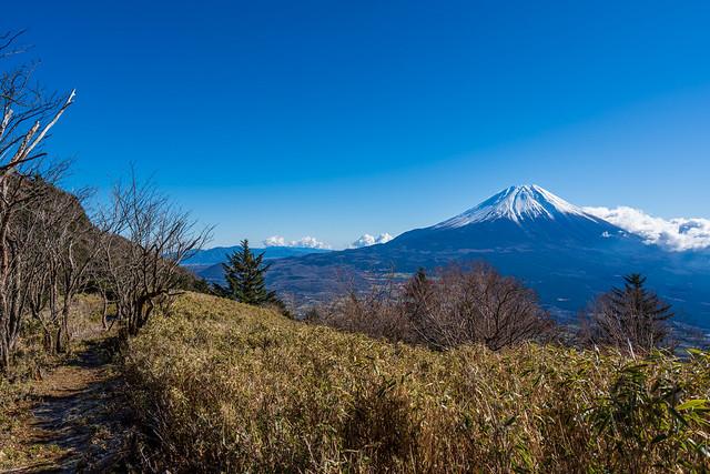 富士山@タカデッキへの稜線