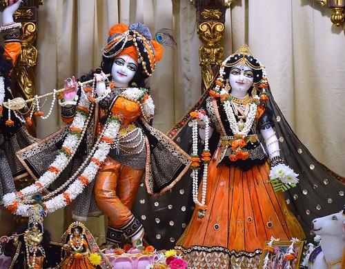 ISKCON Bangalore Deity Darshan 04 Dec 2019