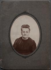 """Miss Cora Sharp # 203 S. Bosman Lewistown, Pa."""