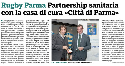 Gazzetta di Parma 04.12.19 - Partnership Città di Parma