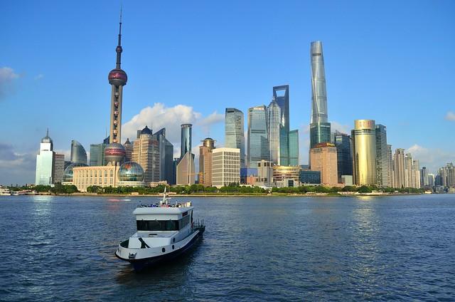 Pudong skyline | Shanghai [EXPLORE]