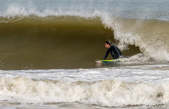 dentro de la ola