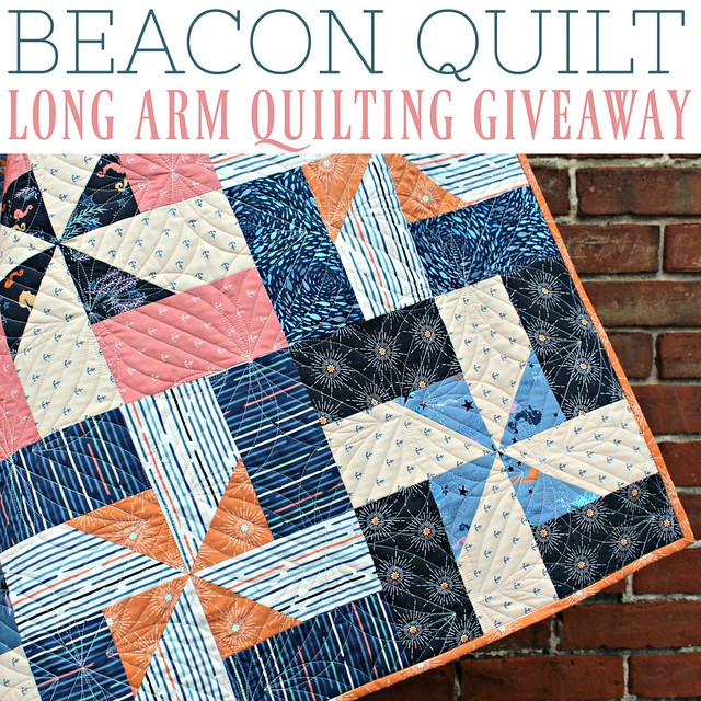 Long Arm Quilting Giveaway!