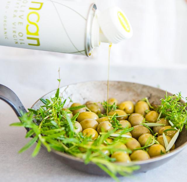 Kochen mit Oliven