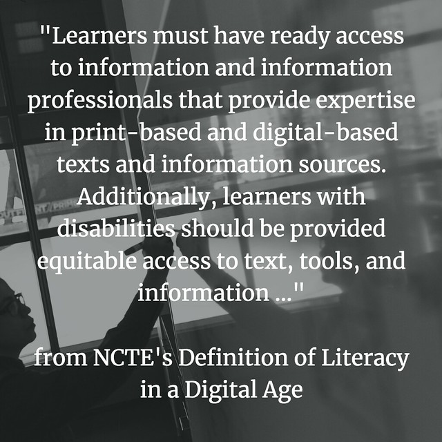 Defining Digital Literacies NCTE access