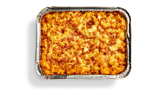 Yellow Cab Baked Mac Party Tray png