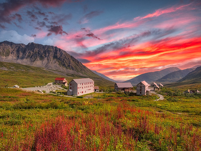 Independence Mine State Historical Park in Alaska