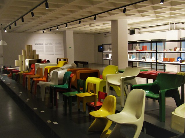 Plasticarium collection in ADAM - Brussels Design Museum