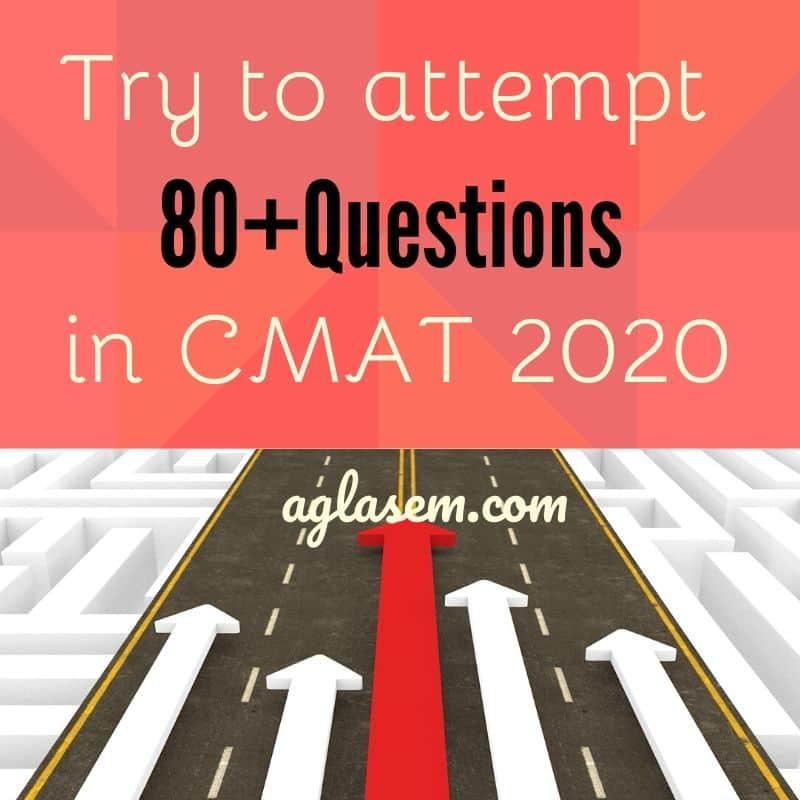 CMAT 2020 Analysis
