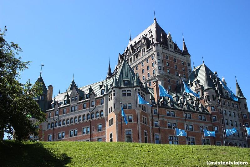 Vieux Quebec Château Frontenac 1