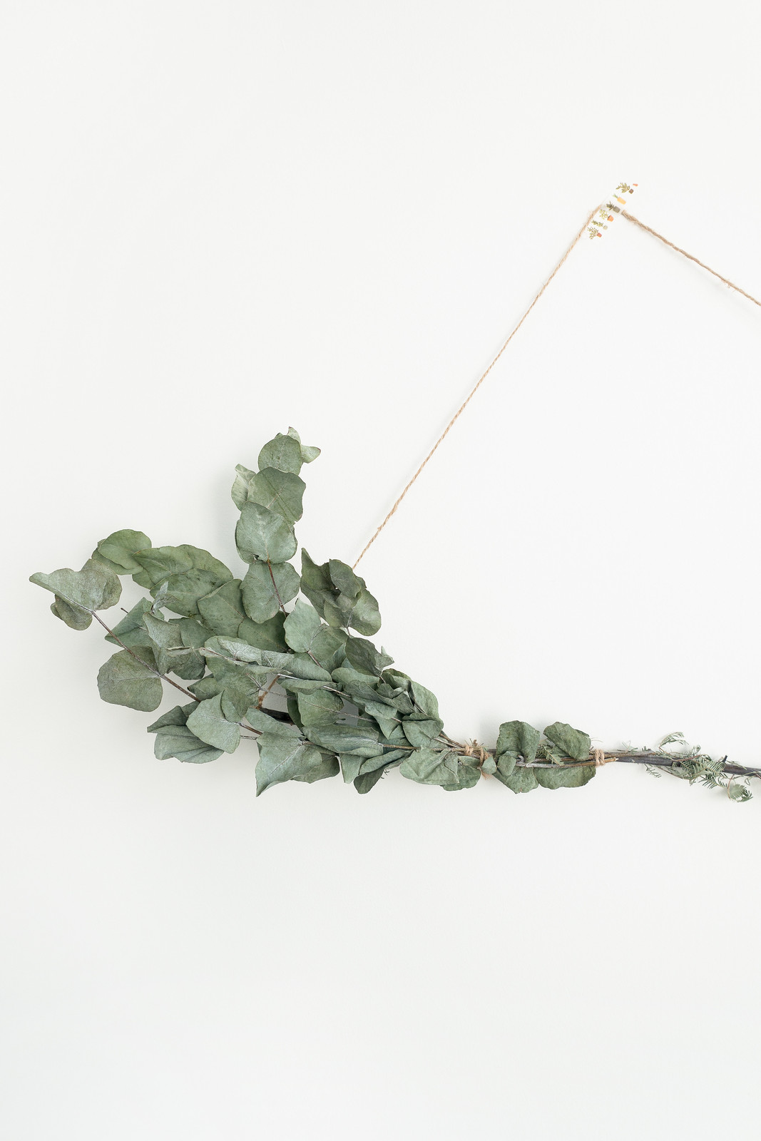 DIY Foraged Wall Hanging