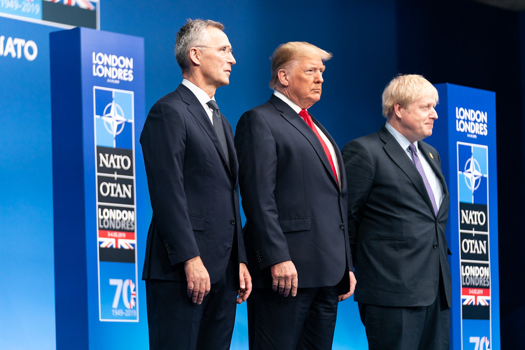 President Trump Attends the NATO Plenary Session