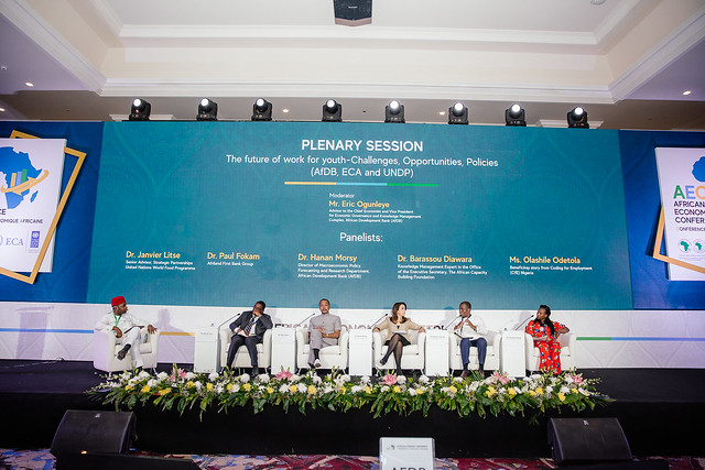 AEC 2019 : Plenary Session 5: The future of work for youth-Challenges, Opportunities, Policies (AfDB, ECA and UNDP)