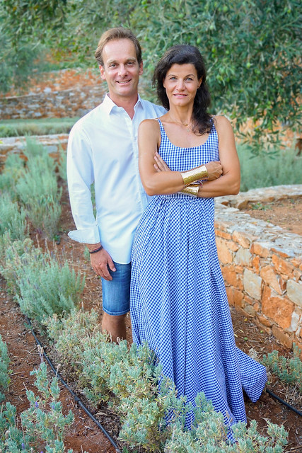 Margit und Richard Schweger in Griechenland