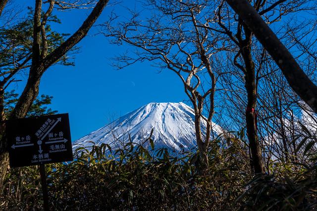 富士山@端足峠