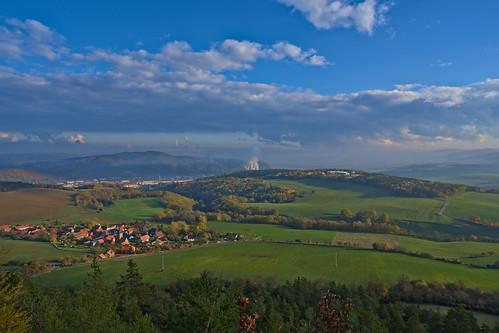 aussicht deutschland landschaft rudolstadt thüringen thuringia darktable fog nebel mist fall autumn herbst ilce7rm3 sel24f14gm