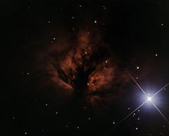 NGC 2024 Flame Nebula RGB