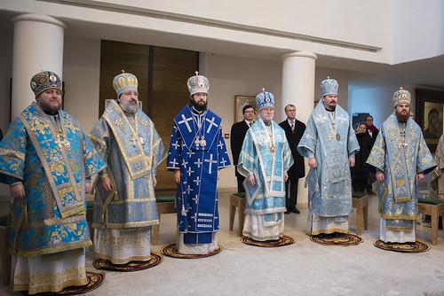 La fête d'Entrée de la Mère de Dieu au Temple
