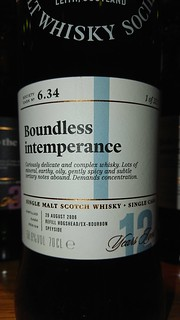 SMWS 6.34 - Boundless intemperance