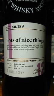SMWS 66.159 - Lots of nice things