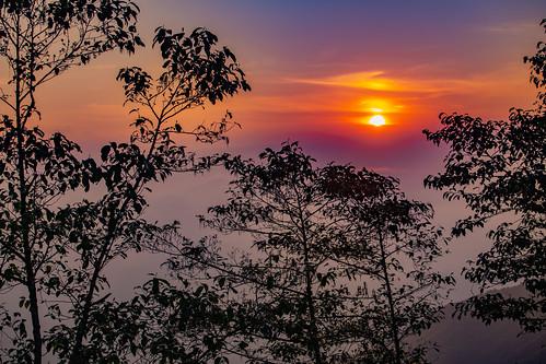 bhutan nepal bagmatizone talakhu nepal2019 sunrise himalayas chisapani