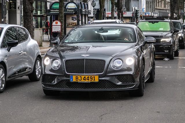 Luxembourg - Bentley Continental GT Speed 2016